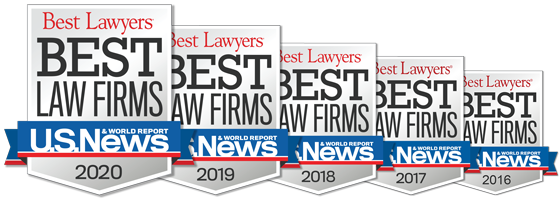 TorkLaw Named to U.S. News & World Report's Best Law Firms List for Plaintiff's Personal Injury, 2016 - 2020