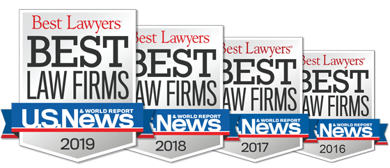 TorkLaw Named to U.S. News & World Report's Best Law Firms List for Plaintiff's Personal Injury, 2016 - 2019