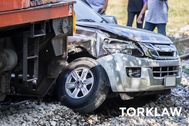 train accidents - automobiles