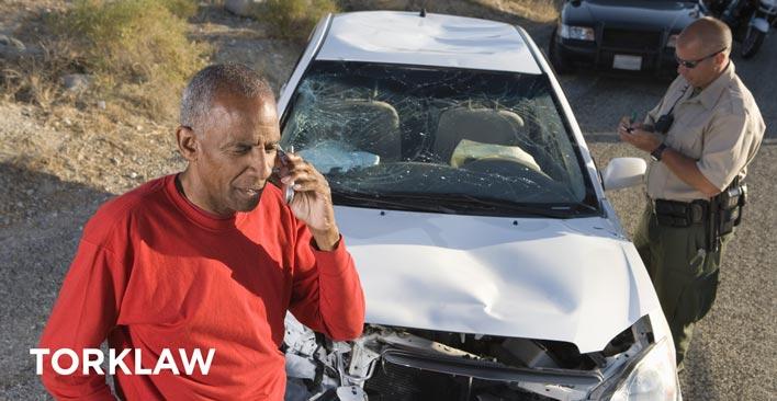 turo car accident police report