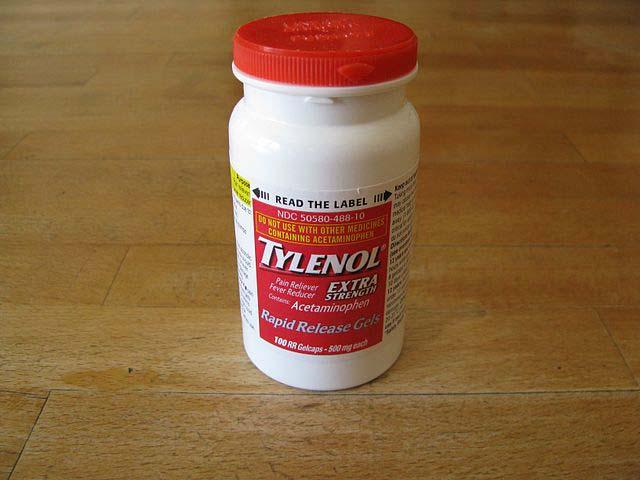 Tylenol product recall