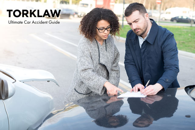 ultimate guide - car accident information exchange