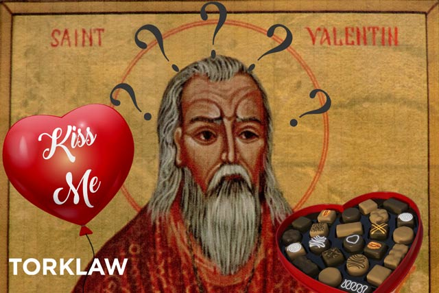 confused St. Valentine