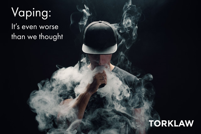 vaping - even worse than we thought