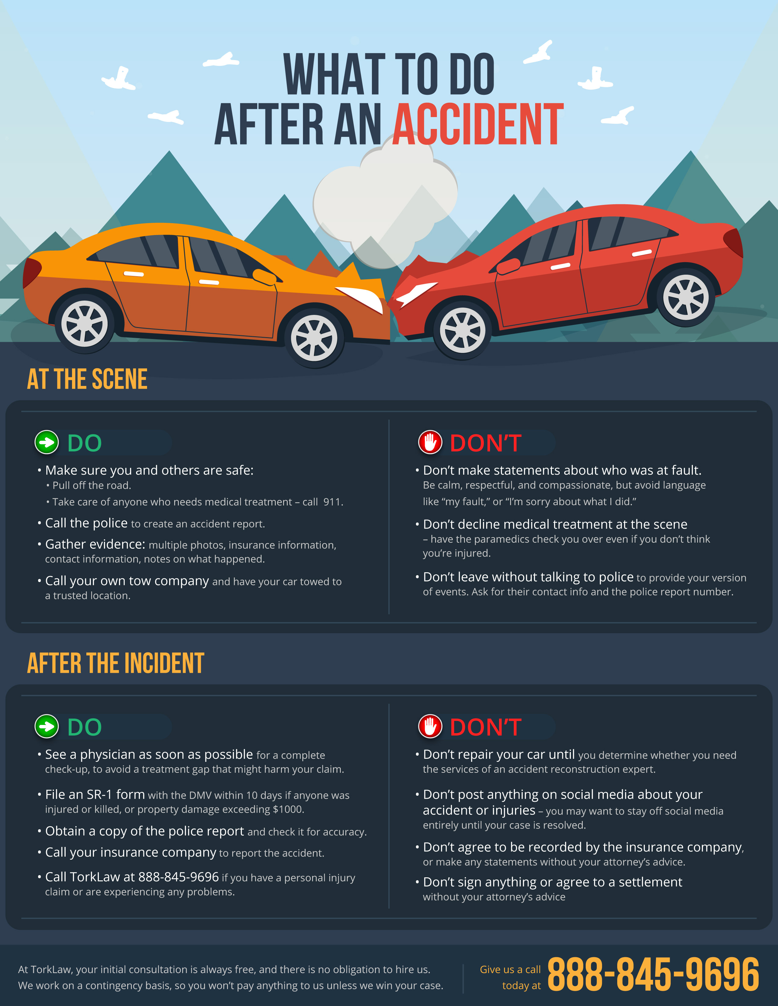 What to do After You Have an Auto Accident
