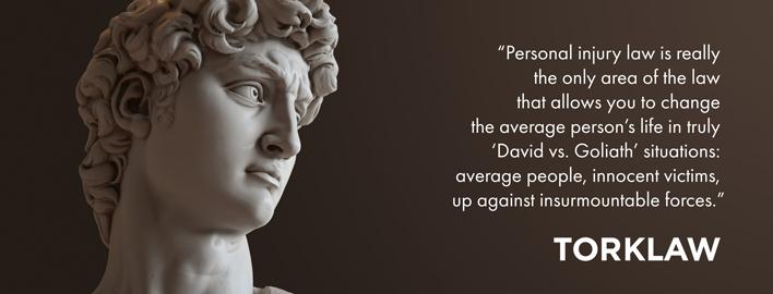 why I practice - David vs. Goliath