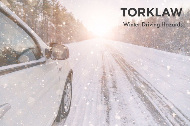 winter driving hazards