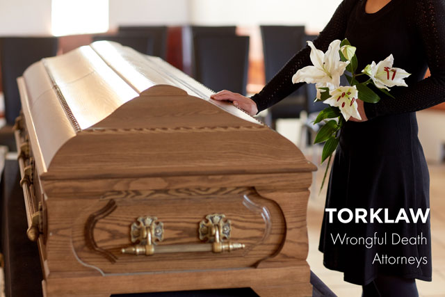 wrongful death - funeral